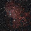 Flaming Star Nebula - 2016/11/24,                                Chappel Astro