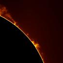 Prominencia Solar 31 03 2015,                                PepeManteca