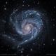 M101 Pinwheel - close up,                                marsbymars