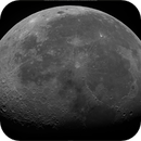 Lunar Disc, 71% Waning Gibbous in Full Daylight, High Res Mosaic, 463 meters per pixel, 08-09-2020,                                Martin (Marty) Wise