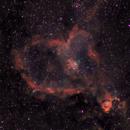 IC 1805.  Heart Nebula,                                Szymon Marzec