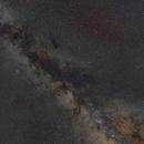 Southern Milky Way, flashback to summer,                                Cfreerksen