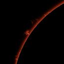 Sun H-Alpha prominences, June 1, 2021,                                Ennio Rainaldi