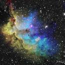 NGC 7380 Wizard Nebula,                                Francois Theriault