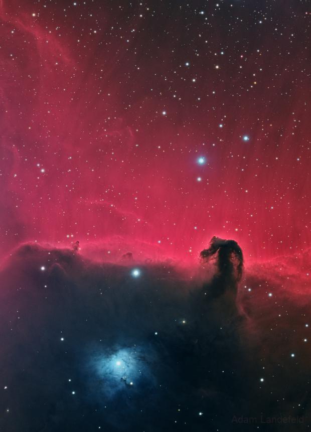 Horsehead Nebula,                                Adam Landefeld