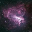 Omega Nebula - M17,                                Bruce Rohrlach