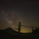 Late spring Milky Way,                                Francisco