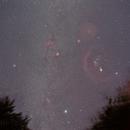 The Winter Milky Way,                                Hata Sung