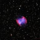 M27 Dumbbell Nebula EdgeHD 800 Prime v. HyperStar,                                Gilbert Ikezaki