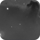 an old horsehead taken in a January 2008 very windy night,                                Stefano Ciapetti