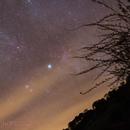 Part of the Cygnus Constellation at the Northern Horizon,                                Gabriel R. Santos (grsotnas)
