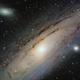 M31. Andromeda Galaxy,                                Vlad Onoprienko