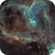 IC 1805 - The Heart Nebula (Ha-SHO),                                Olivier Ravayrol