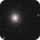M13 - Globular Cluster in Hercules,                                Phillip Hahn