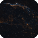 Western Veil Nebula, NGC 6960, NGC 6974,                                Berry