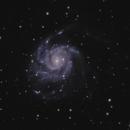 M101 The Pinwheel Galaxy,                                Henny Veerman