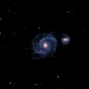 Whirpool galaxy,                                b1063n