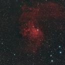 The Flaming Star Nebula,                                Nadeem Shah