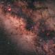 Core of the Milky-way,                                Steffen Boelaars