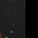 Nébuleuse de la tête de cheval - IC434,                                Francis Couderc