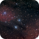 Group of nebulas in Northern Saggitarius,                                Maciej