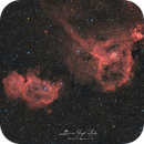 IC1805 and IC1848 - The Heart and Soul Nebulae,                                Brice