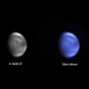Venus clouds in UV and in false colours,                                Vincenzo della Ve...