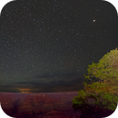 A Starry Night Sky over the Grand Canyon,                                JDJ