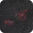 IC1805 and IC1848 - The Heart and Soul Nebulae,                                mattisky