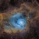 M8 lagoon nebula,                                Astrosatch