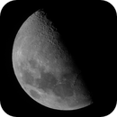 Lune 1205 - 55,3 % - 7,9 j - 84° - mag -11,27 - 365 332 km,                                Ariel