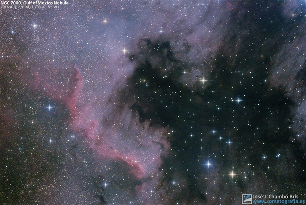 Gulf of Mexico Nebula,                                José J. Chambó