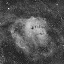IC410 The Tadpole Nebula in Ha,                                Prabhakar
