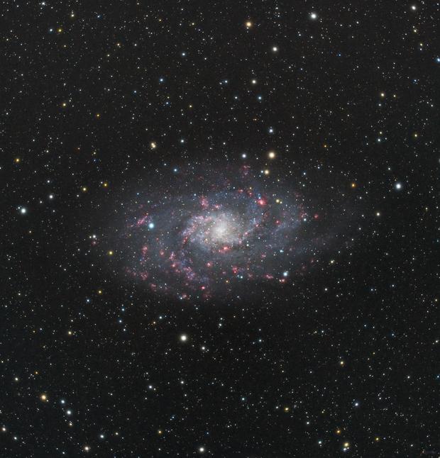 M33, The Triangulum Galaxy,                                James