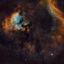 NGC7822(Question mark in space),                                Wei Li