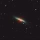 Messier 82 at Easter full moon 2019,                                Josef Büchsenmeister