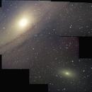 M 31 - M 110 - Mosaik,                                Günther Eder