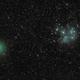 X-mas Comet & M45,                                Tom Robbe