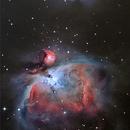 Orion and Running Man Nebula M42,                                HenryD