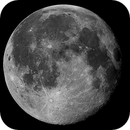 Earth's moon - full,                                Jason R Wait