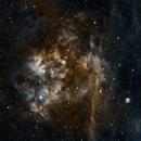 SH2-115 Emission Nebula & Planetary Nebula Abell 71,                                Albert  Christensen