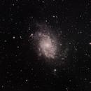 M33 - Triangulum Galaxy in LRGB,                                AZJohnnyC