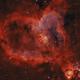 Heartnebula Bicolor Ha/OIII,                                Arno Rottal
