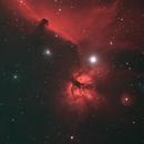 Flame Nebula and Horse Head Nebula,                                David Quattlebaum