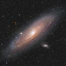 M31 - The Andromeda Galaxy RGB-Ha,                                Andreas Eleftheriou