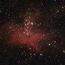 Messier 16, the Eagle Nebula,                                Evelyn Decker