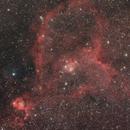 Heart Nebula IC-1805,                                Francesco Sivieri