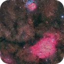 Lagoon and Tifid Nebula,                                Toni Mancera
