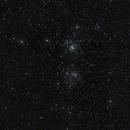 NGC 884 et NGC 869,                                astronono