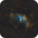 NGC 7635:  The Bubble Nebula in Modified HST Palette,                                Brian Gfeller